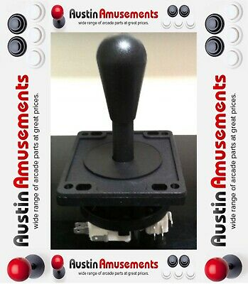 HAPP JOYSTICK ULTIMATE 8 WAY - BLACK -  Arcade Gaming Machine GENUINE HAPP