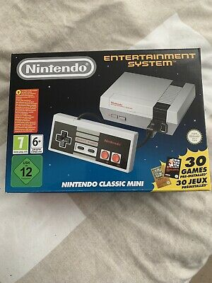 Classic Nintendo Entertainment System NES console. Brand new with 30 games.