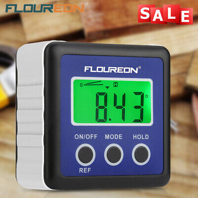 Digital LCD 360° Inclinometer Angle Gauge Meter Protractor Electronic Level Box