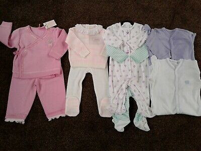Bundle of baby girls clothes size 6-9 months 6-12 months New