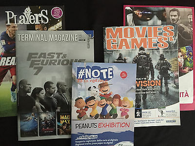 Terminal Magazine + #Note + Players + Movies & Games - Lotto riviste