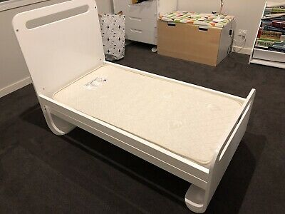 Cot Converts To Toddler Bed - Nature's Purest RRP $699 **BONUS GRO BLIND