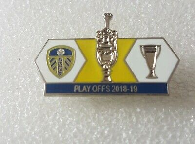 Leeds United Play Off  match badge 18/19 Season