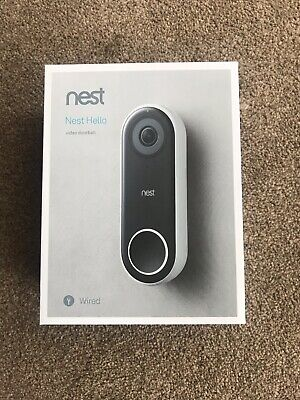 NEST Hello Video Doorbell.