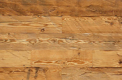 Wall cladding panel reclaimed solid barn wood hand chopped surface Wolmar Master