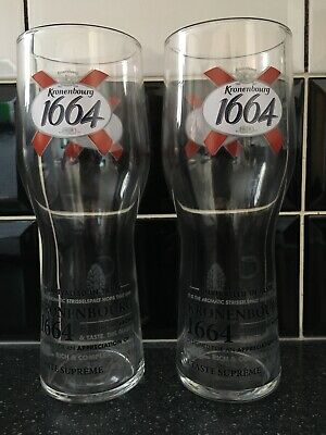 2x Grand Central Pint Glasses CEM17 STAMPED New