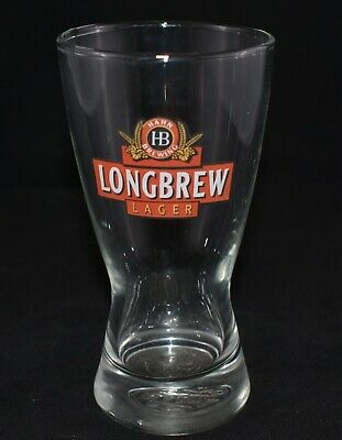 Collectable Longbrew Lager 340Ml Beer Glass Great Used Condition