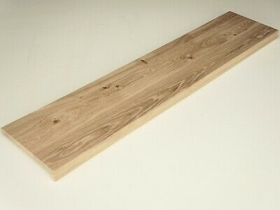 Solid Rustic Oak Window Sill Stair Tread Nosing 20 mm, 100% Solid Wood Staircase