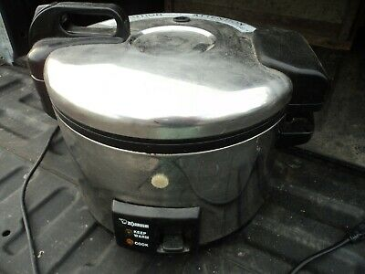 Zojirushi NYC-36 Stainless Steel 20 Cup Electric Rice Cooker