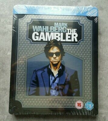 "Blu Ray Steelbook "" The Gambler "" Édition Uk Avec Version Française"
