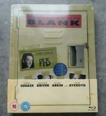 "Blu Ray Steelbook "" Grosse Pointe Blank "" Édition Uk Avec Version Française"