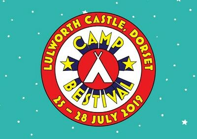 2 x discounted Camp Bestival 2019 tickets