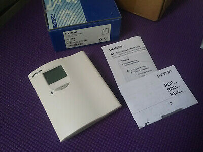 Siemens RDU50 Room Controller Thermostat ((NEW))