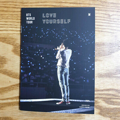 RM Official Mini Photobook BTS Love Yourself World Tour Seoul Blu-ray