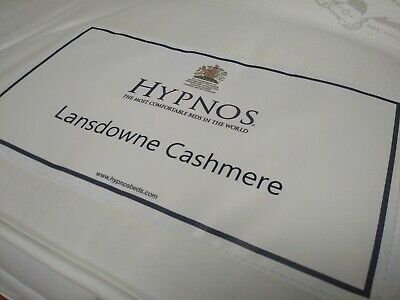 New Hypnos Lansdowne Cashmere Pocket Sprung 6Ft Super King Size Mattress Medium/
