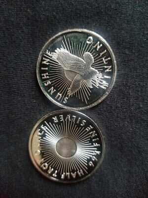 One Half Troy Ounce .999 Fine Silver Eagle Coin by Sunshine Minting at cost