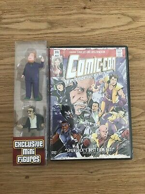 Comic Con Episode IV: A Fans Hope DVD with Stan Lee and Harry Mini Figures
