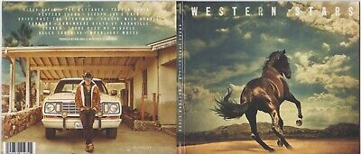 Bruce Springsteen WESTERN STARS CD PLAYED ONCE NOT A PROMO