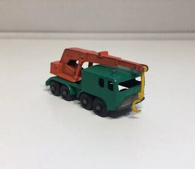 Lesney Matchbox No 30 8 Wheel Crane - Made In England
