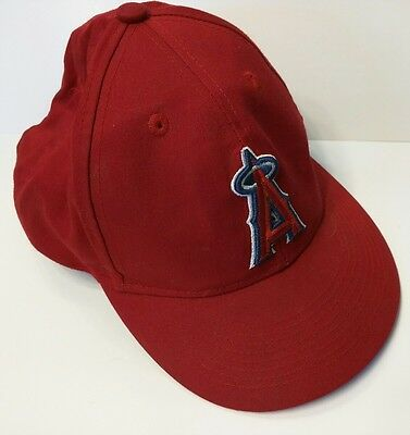 db59bbaa508fa4 MLB Los Angeles Angels Youth HAT CAP Adjustable Velcro Back Team Colors