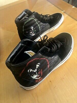 KISS MEN'S SIZE 9 m Vans Dress To KILL Off The Wall High Top