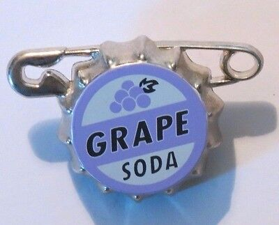 Disney Pixar UP Grape Soda Cap Safety Pin Lanyard Medal BRAND NEW CUTE
