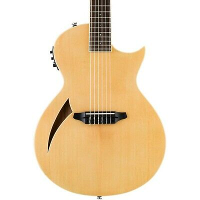 ESP LTD TL-6N Thinline Nylon String Acoustic-Electric Guitar Natural LN