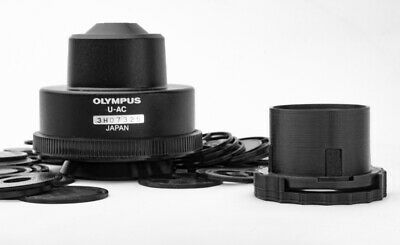 Olympus microscope condenser darkfield polarizing rotatable oblique insert set
