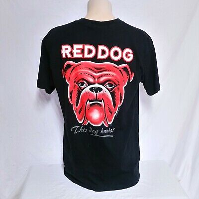 7d4f919b VTG 90s Red Dog Beer T Shirt Double Sided Tee Liquor Bar Tavern Club Party  XL