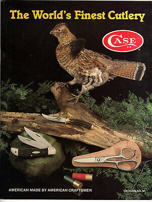 W R Case and Sons Cutlery Product Catalog for 1981