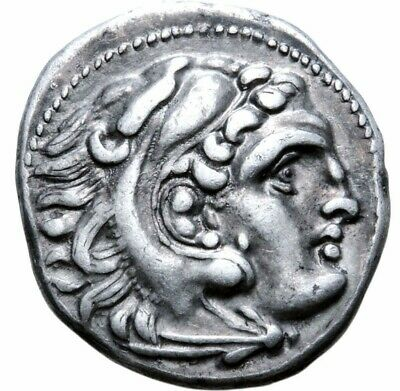 Alexander the Great. Stunning Drachm. Pegasus in left field. Greek Silver Coin.