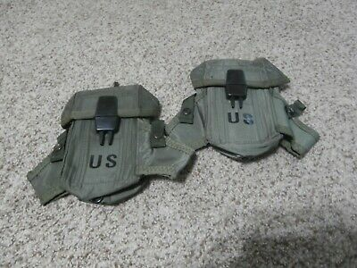 Lot of 2 US Military Army USMC Ammo Case 30 Mag Pouch