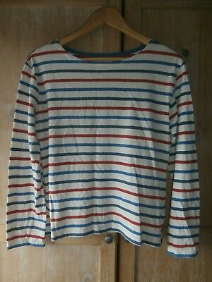 NEW SEASALT Meadow Pipit Organic Cotton Top RED Brick Size 10 12 14 16 18 20