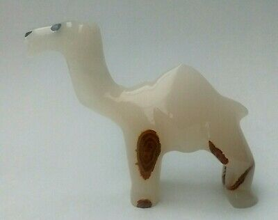 Handcrafted ONYX Standing Camel