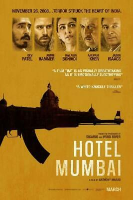 Hotel Mumbai (DVD 2019) NEVER WATCHED DVD DISC ONLY READ DESCRIPTION