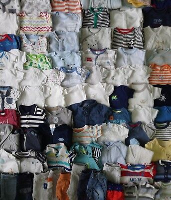 NEXT & BNWT Massive Baby Boys Clothes Bundle 0 - 3 Months/Over 50 Items