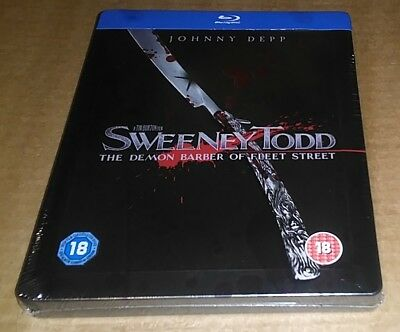 Sweeney Todd (Blu-ray) UK Limited Edition Steelbook