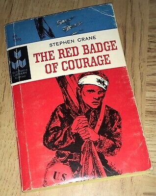 1966 Good Condition The Red Badge Of Courage Stephen Crane Scholastic Edition Pb