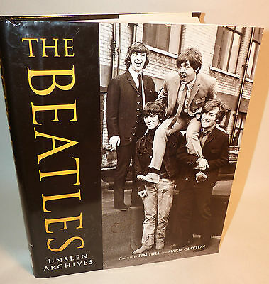 Very Rare Ed. BEATLES UNSEEN ARCHIVES Indonesia Book HBDJ John Paul George Ringo