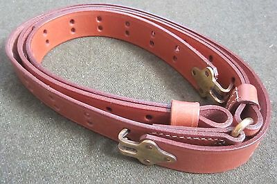 Wwii Us M1 Garand Rifle Leather Rifle Carry Sling