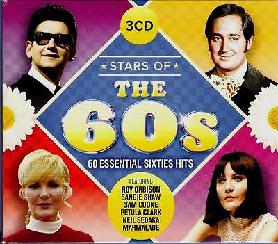 STARS OF THE 60S  60 Essential Hits ( 60  Great Tracks ) Various Artists  Mint