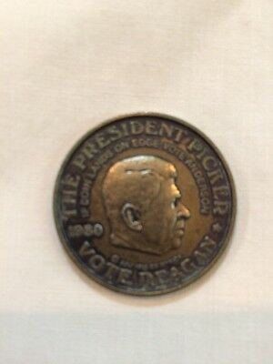 THE PRESIDENT PICKER 3 Sided Coin Reagan, Carter, & Anderson
