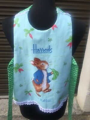 Peter Rabbit Fancy Apron Handmade Painting Play Cooking
