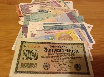 World Banknote Joblot. Over 50 Banknotes. Worldwide Lot / Collection.