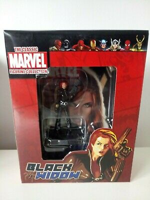 Very Rare Eaglemoss The Classic Marvel Figurine Collection Black Widow