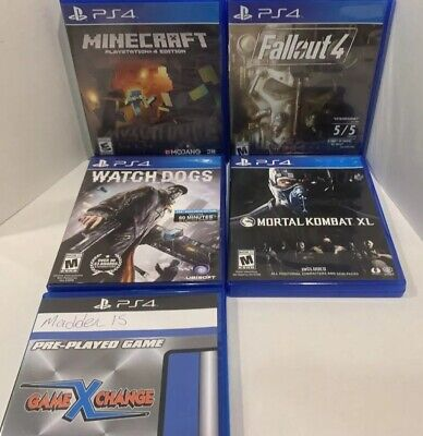 GAME BUNDLE WITH PS4 ,Ps2 Slim, PS Vita Consoles - $350 00