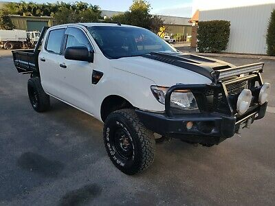 2012 Ford Ranger PX 4x4 3.2L 5cyl turbo diesel AUTO repairable theft damage