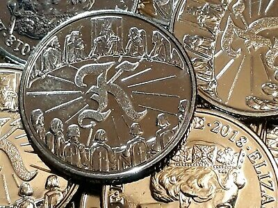 2018 KING ARTHUR. LETTER K. Knights. Round Table. Alphabet Ten Pence. A to Z 10p