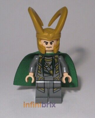 Lego Loki Minifigure from Sets 6867, 6867 + 6869 Avengers Super Heroes NEW sh033