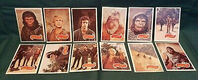 Planet of the Apes 1975 TV Show - Topps Complete Trading Card Set